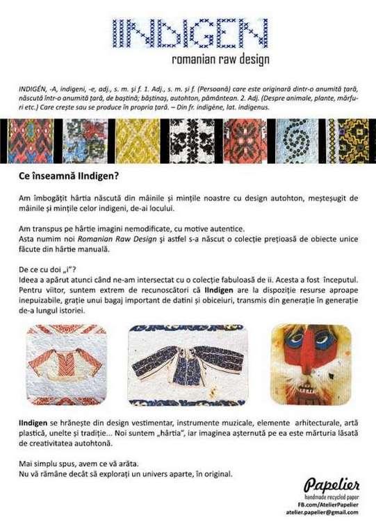 IIndigen - Romanian Raw Design