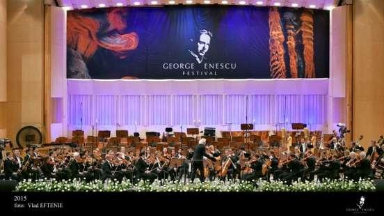 Orchestra Filarmonicii din Berlin pe scena Festivalului Enescu 2015