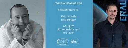Seară de proză SF Silviu Jureschi și Liviu Surugiu