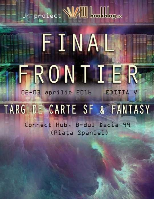 Afis Final Frontier 2016