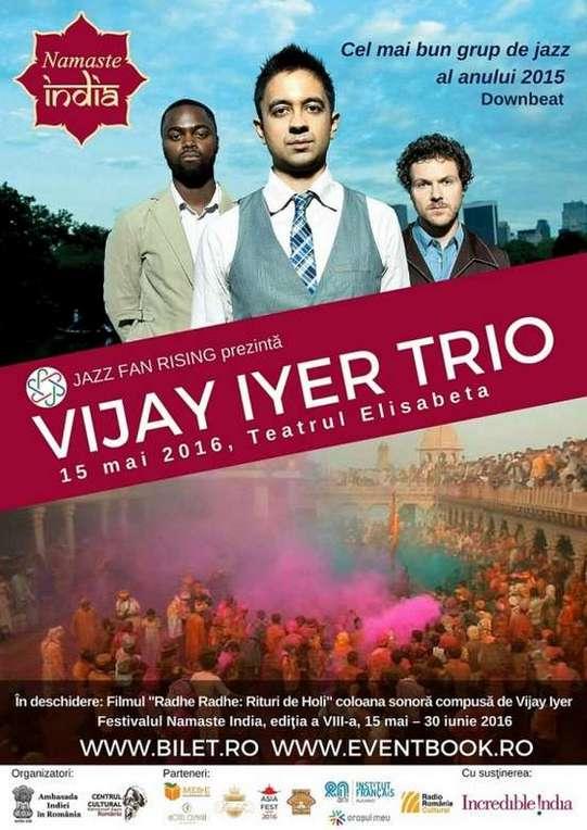 Concert Vijay Iyer Trio 15 mai 2016