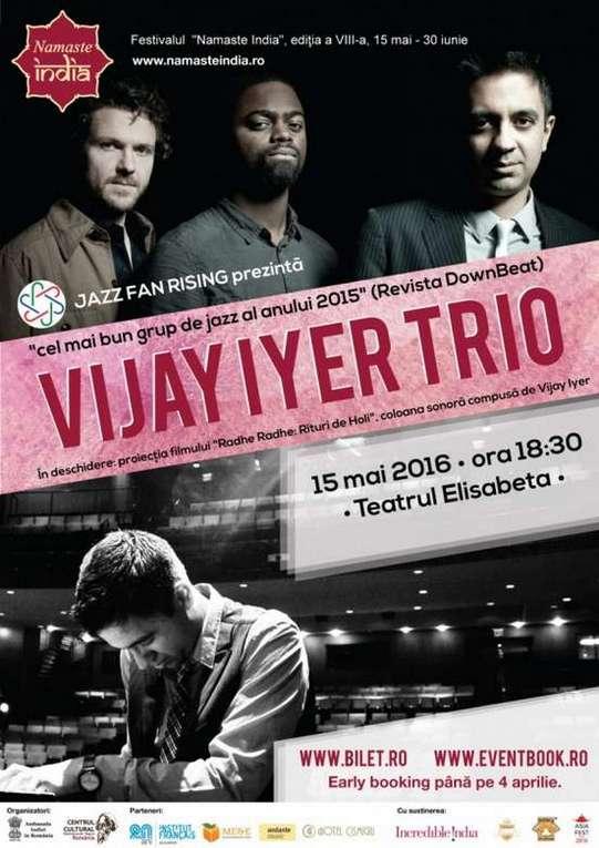 Poster-Vijay Iyer Trio