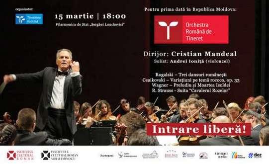 concertul Orchestrei Române de Tineret la Chişinău