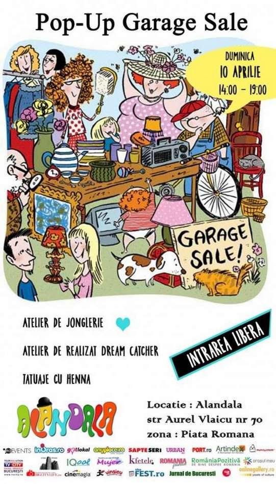 AFIS_Pop-Up Garage SALE_10aprilie