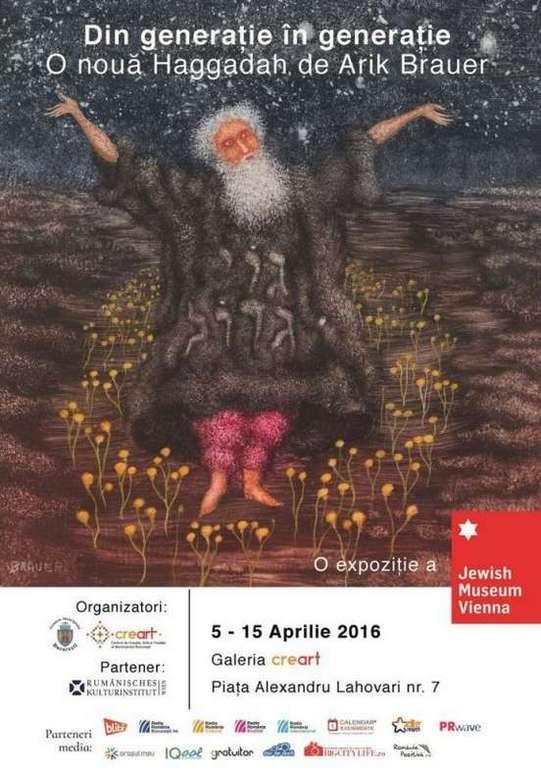 Afis Expozitie Arik Brauer