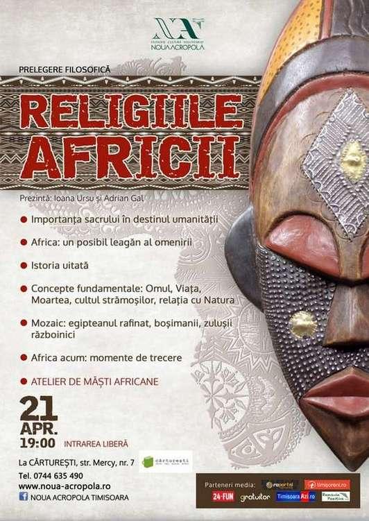 Afis Religiile Africii
