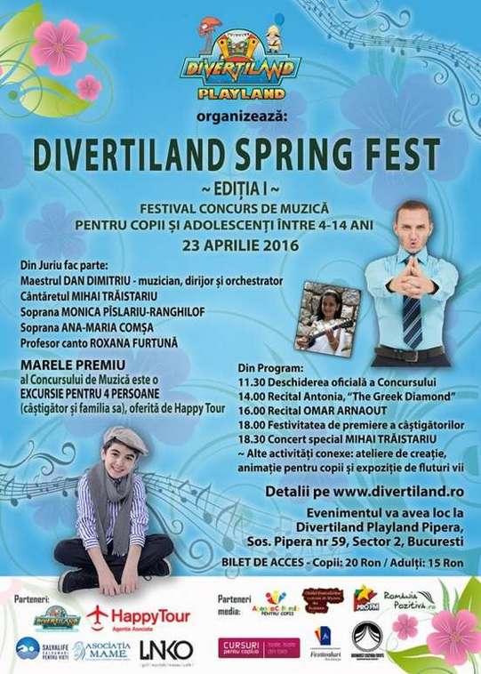 Afis Spring Fest 2016