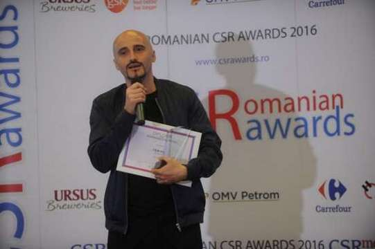 Calin Goia- Voltaj - Romanian CSR Awards 2016