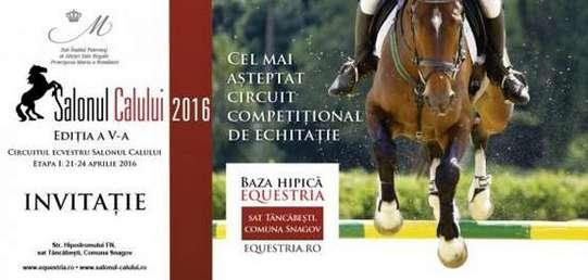 Invitatie Salonul Calului 2016