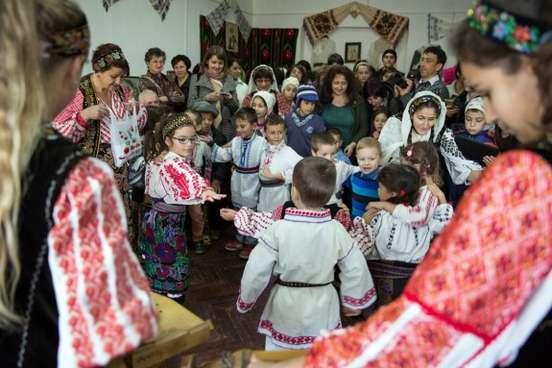 Lansarea Atelierului Zestrea Bunicilor in Corbeni, judetul Arges