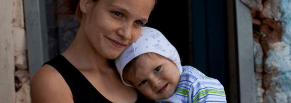 familie ajutata de Asociatia Acsis