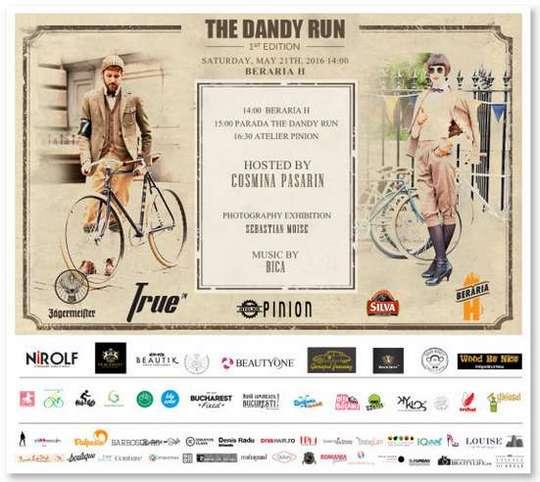 invitatie Dandy Run