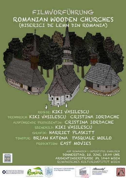 Afis Biserici de lemn din Romania