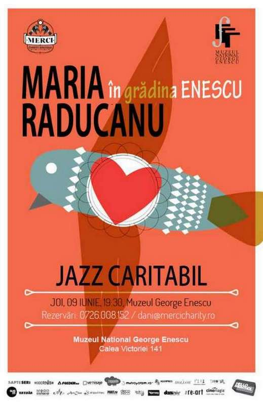 Afis Maria Raducanu Concert Caritabil Merci