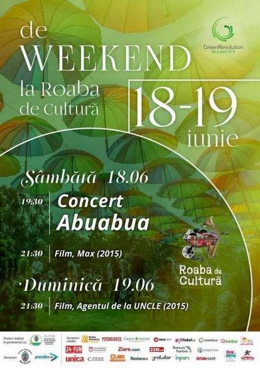 Afis Roaba de Cultura 18-19 iunie