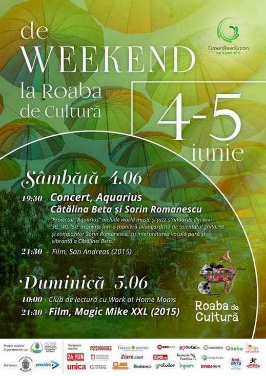Afis Roaba de Cultura 4-5 iunie