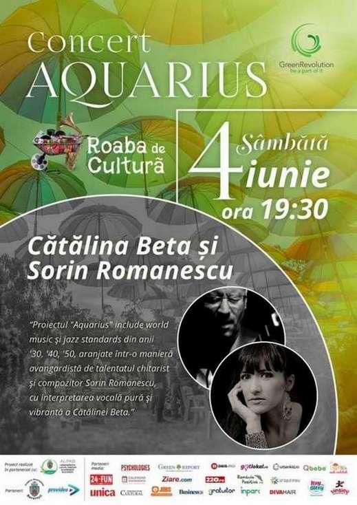 Afis Roaba de Cultura Concert 4 iunie