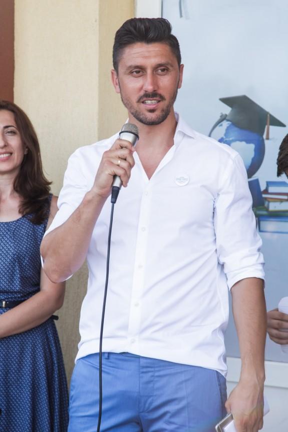 Ciprian Marica, Conferinta lansare Laborator Vocational - Fundatia Ciprian Marica