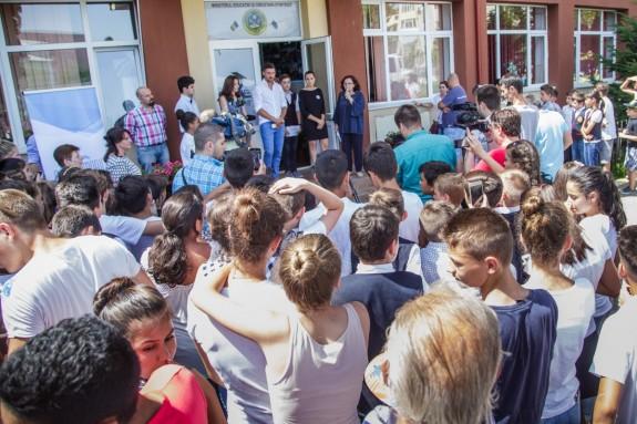 Conferinta lansare Laborator Vocational - Fundatia Ciprian Marica