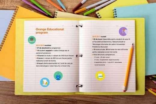 Infografic - Orange Educational Program
