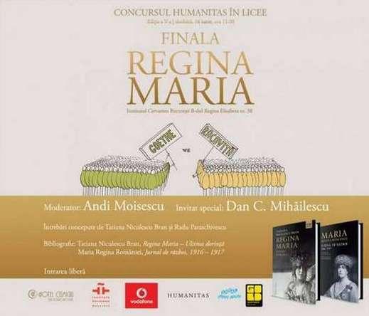 Newsletter finala concursului Humanitas in licee 2016