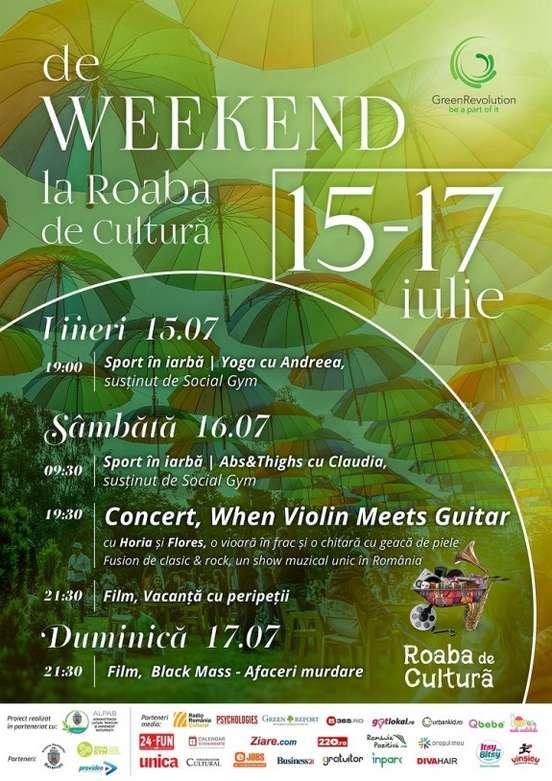 Afis Roaba de Cultura 15-17 iulie