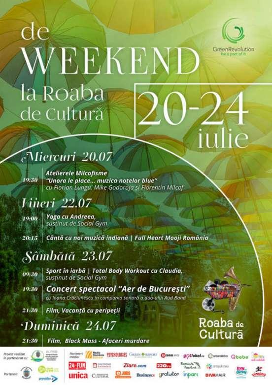 Afis Roaba de Cultura 20-24 iulie