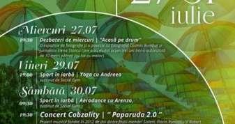 Afis Roaba de Cultura 27-31 iulie