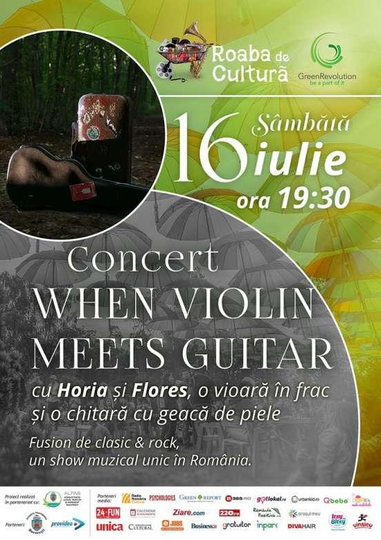 Afis Roaba de Cultura Concert 16 iulie