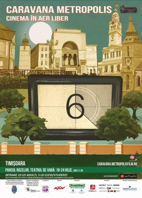 cinema in aer liber Timisoara