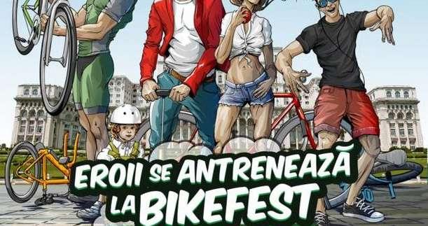 BikeFest, locul unde se antreneaza eroii urbani,  3 – 4 septembrie, 2016