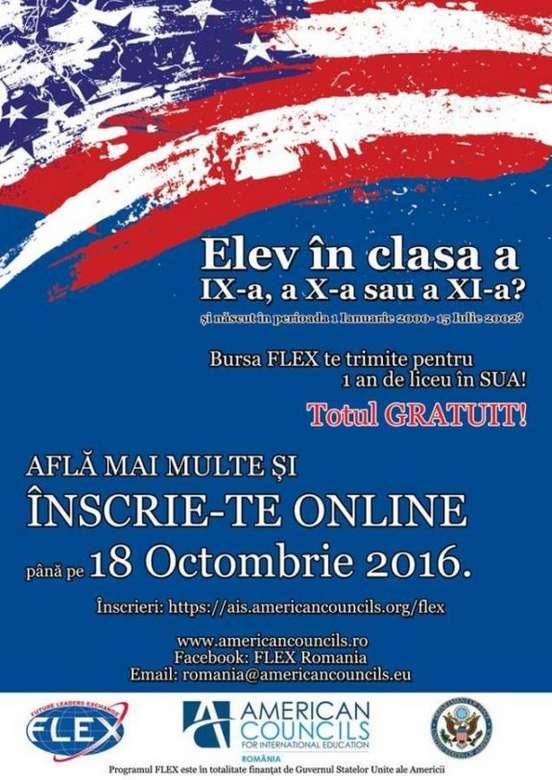 Afis FLEX 2017-2018