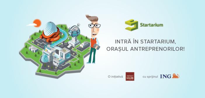 Intră în Startarium, Orașul Antreprenorilor!