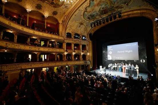 ZURICH, SWITZERLAND - OCTOBER 04: A general view at the Award Night Ceremony during Day 10 of Zurich Film Festival 2014 on October 4, 2014 in Zurich, Switzerland. (Photo by Andreas Rentz/Getty Images for ZFF)