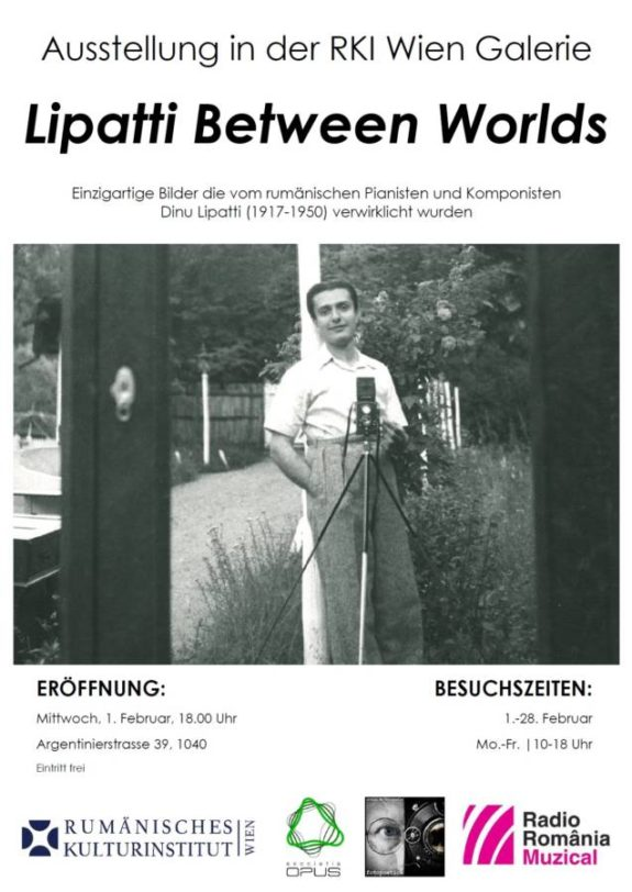 Afis expozitie Lipatti Between Worlds