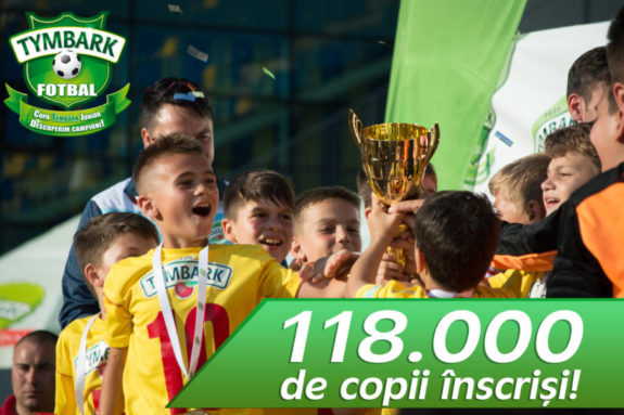 Cupa Tymbark Junior - 118 de mii