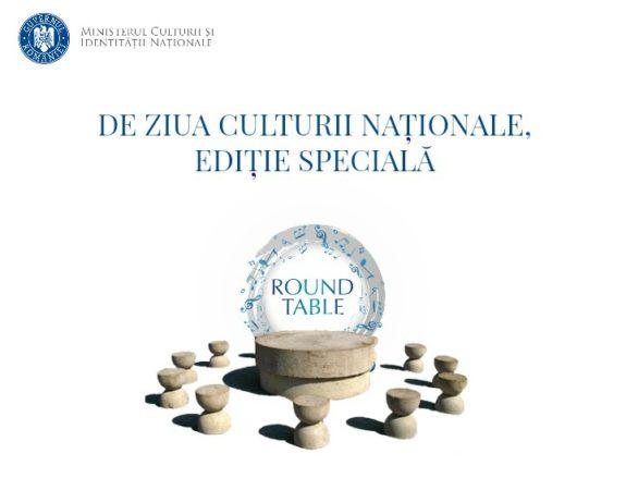 Editie Round Table de Ziua Culturii Nationale