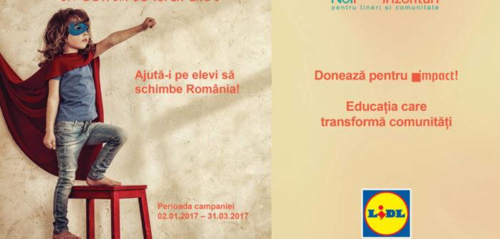 Educația face nația! Cumpărături cu IMPACT la Lidl!