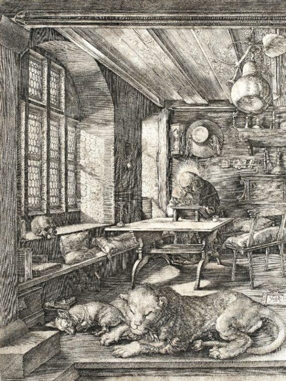 Albrecht Durer, Sfântul Ieronim în chilia sa