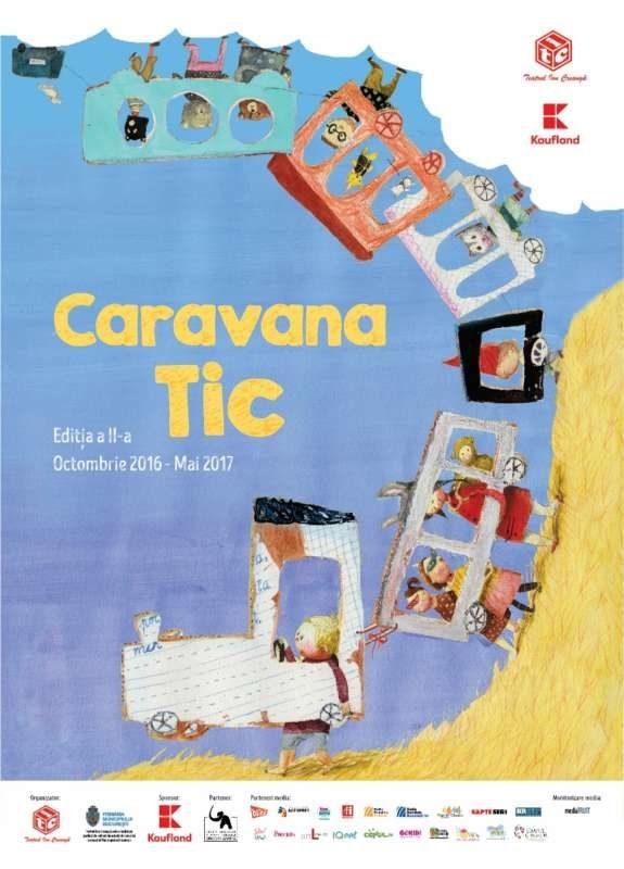 Afis Caravana TIC 50x70