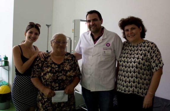 Dna Dinu (beneficiar proiect), Ligia Tautu (angajat Orange), Vlad Romane...