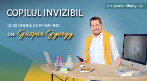 Gaspar Gyorgy lanseaza cursul online Copilul invizibil