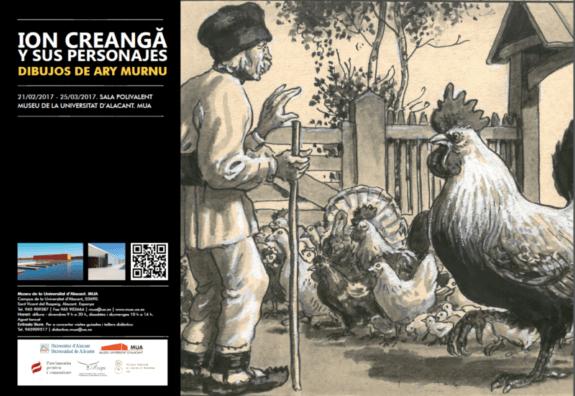 Ion Creanga si personajele sale -Alicante