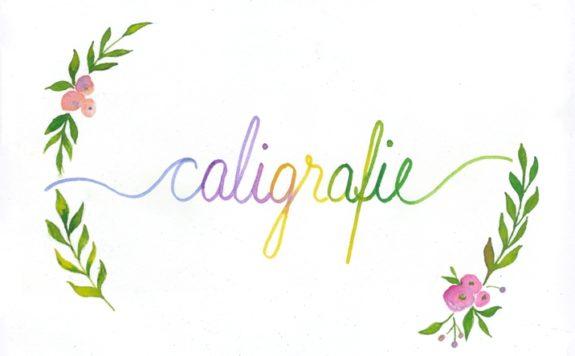 vizual caligrafie
