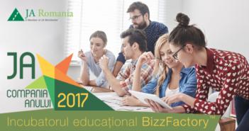 150 de start-up-uri intra in incubatorul educational JA BizzFactory