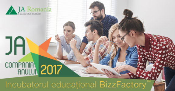 150 de start-up-uri intra in incubatorul educational JA BizzFactory