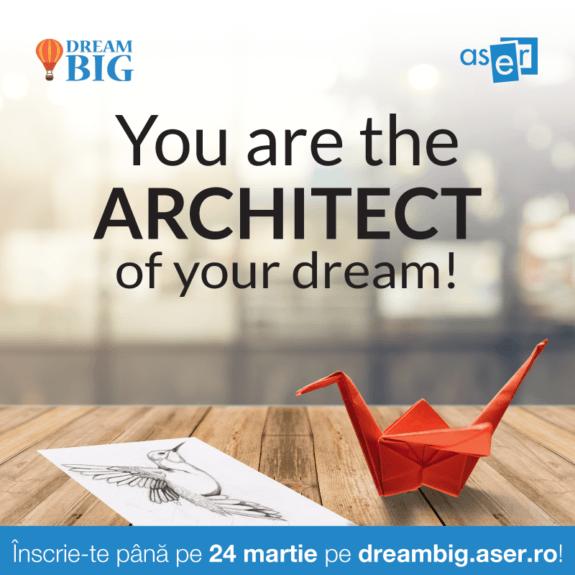 ASER, Dream Big, Afis, martie 2017
