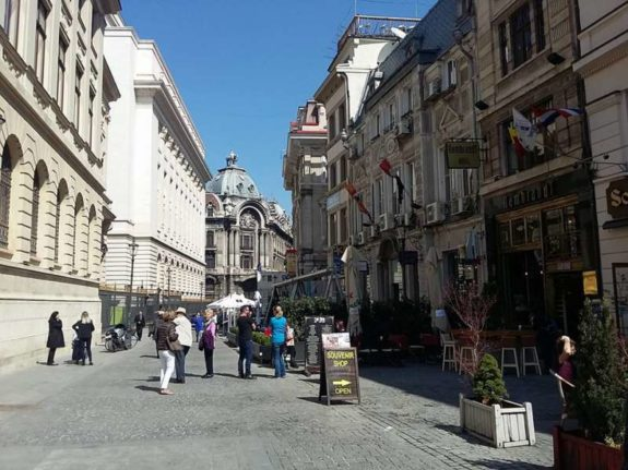 centrul istoric Bucuresti 2017 fara masini romaniapozitiva 1