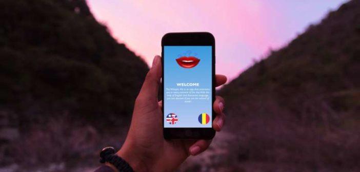O firmă din Iași a creat WhisperMe, o aplicație care te învață să citești pe buze