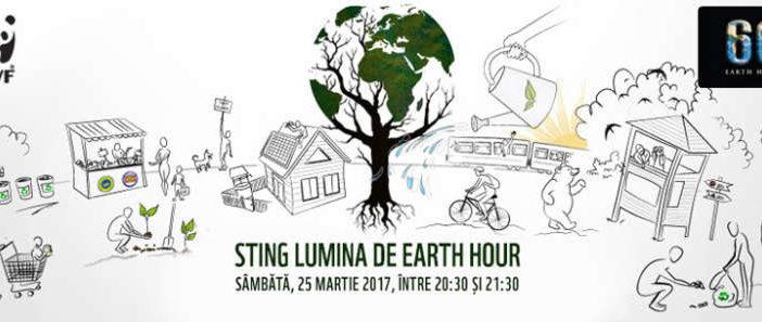 WWF vă invită la Ora Pământului 2017 – cea mai mare mișcare de mediu din istorie